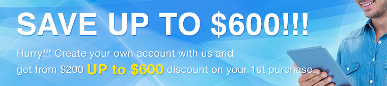 SAVE UP TO $600!!!