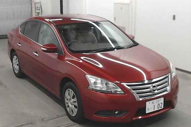 2013/OCT/Auction Grade:4 SYLPHY TB17 1800cC TB17-001176